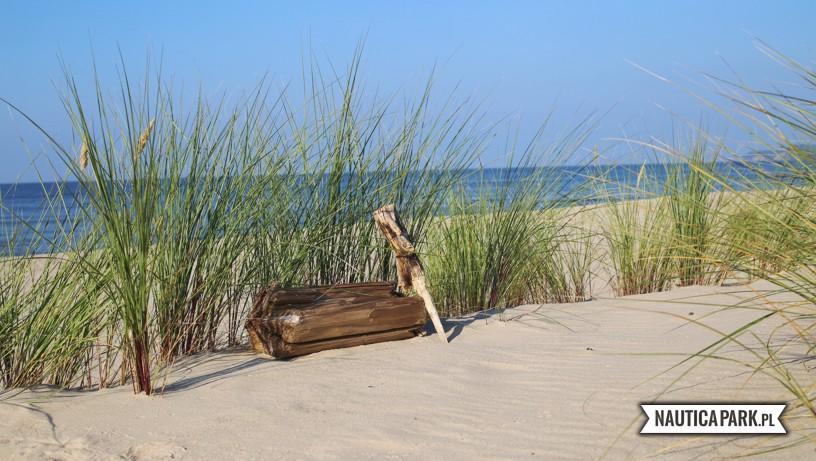 Plaża zachodnia w Dziwnowie